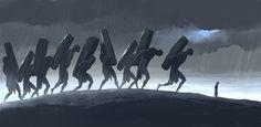 Jack the Giant Slayer Concept Art by Adam Brockbank in Illustration & Painting Artist Film, Comic Artist, Character Concept, Concept Art, Character Design, Jack The Giant Slayer, Magic Wings, Creative Illustration, Fantasy Creatures