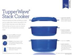 StacK Cooker system Shop online my.tupperware.com/MandysAwesomeTupperware