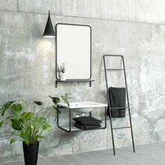 Minimalistinen Temal Modula allaskaluste ja pesuallas luovat yhdessä näyttävän kokonaisuuden kylpyhuoneeseesi.