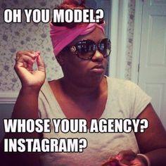 Instagram whores...