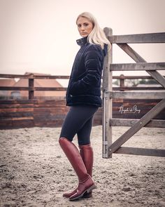 Equestrian Boots, Equestrian Outfits, Equestrian Style, Country Women, Horse Girl, Leather Boots, My Girl, Riding Boots, Women's Fashion