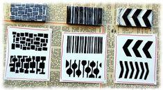 handmade stamps by glenda
