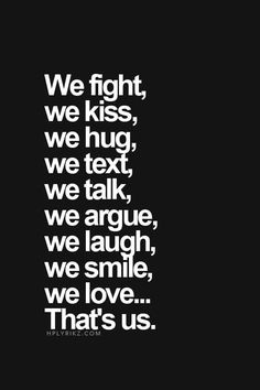❥ We'll never give up on us!