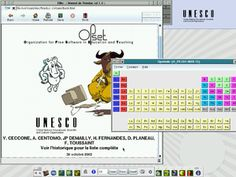 English: The desktop of Freeduc-CD with F. Instructional Technology, Educational Technology, Software Apps, Teaching Plan, Training Materials, Flipped Classroom, Classroom Language, Teacher Tools, School Hacks