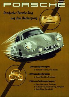 imperiousrex:  xtc: AUSringers.com» Über-cool vintage Porsche racing posters