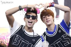 Rap monster with Jin