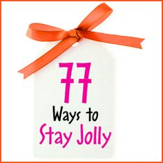 My article, 77 Ways to Stay Jolly Throughout the Holiday, in Calgary's Child Nov/Dec 2012.