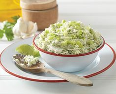 Cabbage with Cilantro Yogurt Lime Dressing