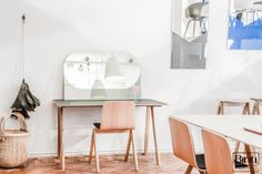 Binti Home Blog, Hay store Amsterdam, danish design, inspiration for a desk