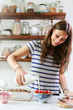 Homemade granola was one of the first recipes I ever perfected and it's still one of my favourites, I always have a huge jar of granola in my kitchen so that I can enjoy it anytime! I love eating i...