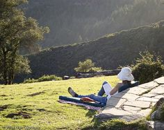 Take a hike on one of our many beautiful trails and reward yourself with sun and a good book -  Marin County, California