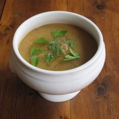 Spiced parsnip soup - 151 calories. Filling make-ahead lunch for 5:2 diet fast days.