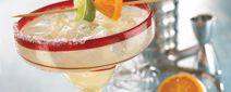 Ultimate Margarita    Sauza® Gold Tequila, triple sec, fresh lime, house-made margarita mix     Flavors: Pomegranate, Strawberry, Tropical Berry