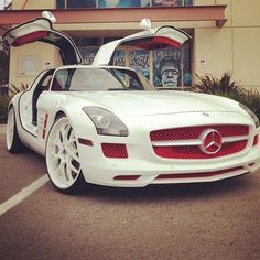 #White Chocolate & Cranberry #Mercedes #SLS #Car