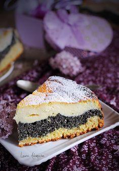 Tarta cu crema de branza si mac