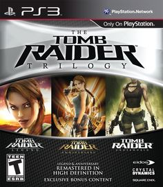 The Tomb Raider Trilogy.