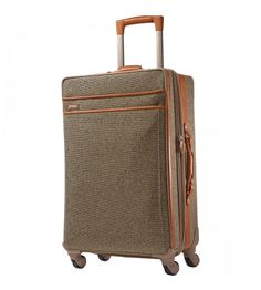 Hartmann Tweed Belting Mobile Traveler Expandable Spinner 26