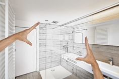Ideas for #BathroomRenovations on Budget