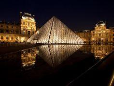Escape to top vacation spot Louvre Museum in Paris, France.