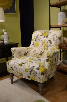 Urban Elements Accent Chair from Craftmaster Furniture. Choose your fabric, and finish...all at affordable prices.#made in America