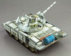 The Modelling News: Review Pt.III: Andy finishes Takom's 35th scale T-55 AMV Russian Medium Tank
