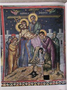 Byzantine Art, Prayers, Comic Books, Comics, Painting, Painting Art, Prayer, Paintings, Beans