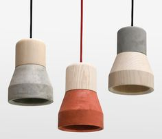 Purchase on-line Cement wooden lamp by Specimen Editions, cement pendant lamp design Decha Archjananun, Cement Wooden assortment Beton Design, Luminaire Design, Concrete Design, Concrete Light, Concrete Lamp, Concrete Casting, Concrete Furniture, Funky Furniture, Plywood Furniture