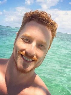 Ginger Man of the Day Hot Ginger Men, Ginger Beard, Ginger Hair, Ginger Guys, Moustaches, Gorgeous Redhead, Beautiful Men, Gq, Redhead Men