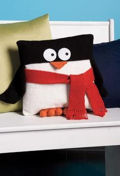 Penguin Pillow                                        by Whitney Webster