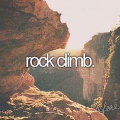 Rock climb !!!