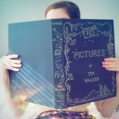magic #big #blue #book <3