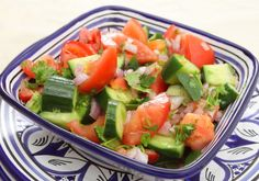 tomato salad recipes fresh   Fresh Cuke Tomato Salad - Gluten Free Vegan Living