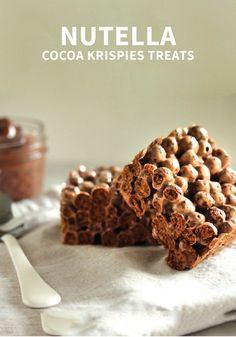 Break out your chocolate Rice Krispies® cereal to make these delicious Nutella Cocoa Krispies Treats® for your family. They'll make the perfect sweet snack recipe for after-school!