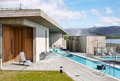 Another image from the Laugurvatn Fontana spa in Iceland - this place sits right on a natural hot spring! Gallery