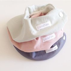 Here is for the one who love the one-color style - LittlePetit Candy Bibs Series <3