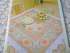 Fotos de revistas para bordado em tecido xadrez    Conforme sequencia de fotos à…
