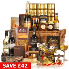 Twelfth Night - Over - Shop By Price - Hampers Over 60, Christmas Hamper, Twelfth Night, Hampers, Honeycomb, Wine Rack, Whiskey Bottle, Xmas Ideas