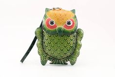 owl change coin purse