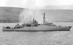 HMS Antelope, Falklands war.
