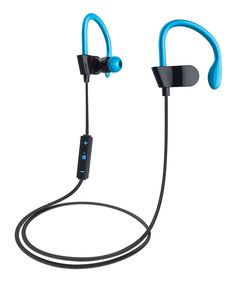 Look at this #zulilyfind! Blue Sport Bluetooth Earbuds by Merkury Innovations #zulilyfinds
