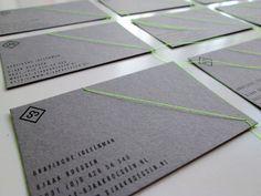 Inspiration: 25 super cool and elegant black business cards - Blog of Francesco Mugnai