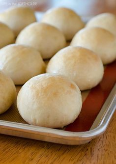 French Bread Rolls. This is such an easy, no-fail recipe!