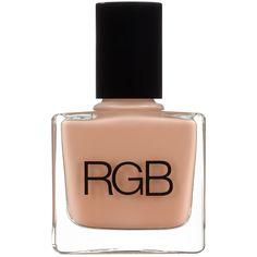 RGB NAILSBeach RGB ($16) ❤ liked on Polyvore featuring beauty products, nail care, nail polish, beauty, makeup, nails, esmaltes, gold nail polish, rainbow nail polish and rgb nail color