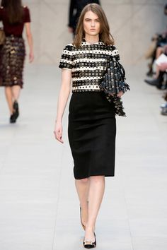 Burberry Prorsum Fall 2013 Ready-to-Wear Collection Photos - Vogue