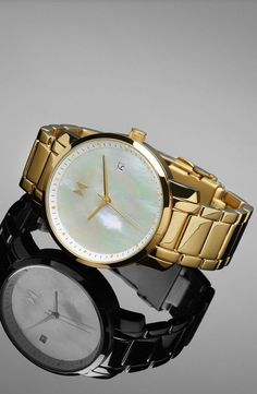 The Gold Pearl Watch is just a hint of what's included in our collection of women's watches at MVMT Watches. This beauty could be yours in just a few days with free worldwide shipping!