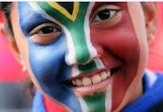 Cheryle W. shares this easy face paint recipe. South African Flag, Homemade Face Paints, Kids Inspire, Flag Face, Other Countries, Fifa World Cup, Country, Painting, Image