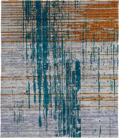 Capella C Hand Knotted Tibetan Rug from the Tibetan Rugs 1 collection at Modern Area Rugs