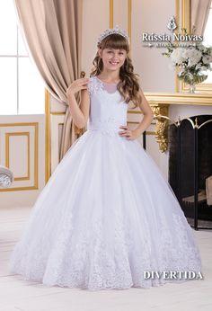 Wedding Girl, Wedding Dresses For Girls, Dream Wedding, Girls Dresses, Flower Girl Dresses, Pagent Dresses, Formal Dresses, Different Types Of Dresses, Dress Anak