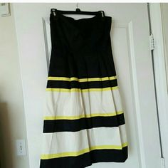 Selling this Express strapless dress in my Poshmark closet! My username is: qteondty. #shopmycloset #poshmark #fashion #shopping #style #forsale #The Limited #Dresses & Skirts