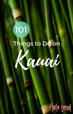 101 Things to Do on Kauai Best Island Vacation, Kauai Vacation, Beach Trip, Vacation Ideas, Vacation Spots, Fiji Travel, Hawaii Travel, Hawaii Honeymoon, Travel List
